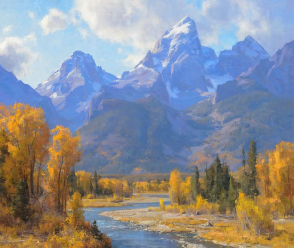 Clyde Aspevig, The Tetons, Wyoming
