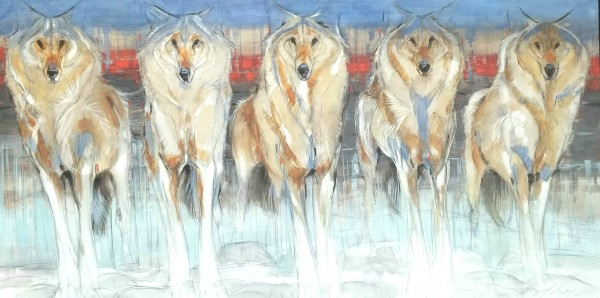 Amy Lay, The Ghost Dogs