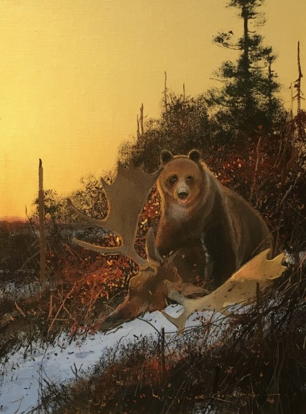 Nicholas Coleman, Hazards of the Trail - Grizzly