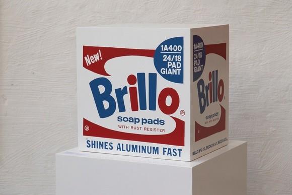 Andy Warhol, Brillo Box - Stockholm/Malmö Type (inv1), 1968/1990