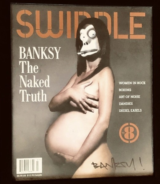 Banksy, Signed Swindle Magazine with Banksy cover, 2006