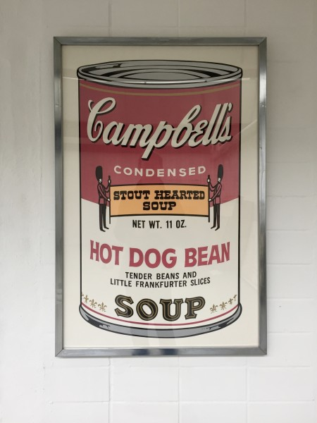 <span class=%22title%22>Campbells Hot Dog Bean Soup<span class=%22title_comma%22>, </span></span><span class=%22year%22>1969</span>