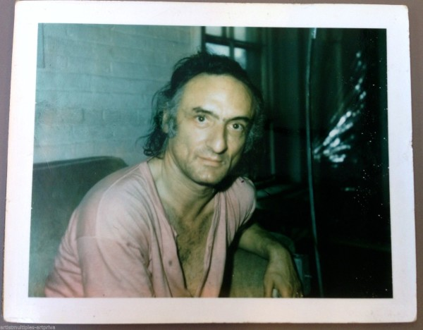 <span class=%22title%22>Unique polaroid portrait of artist Larry Rivers<span class=%22title_comma%22>, </span></span><span class=%22year%22>1970</span>