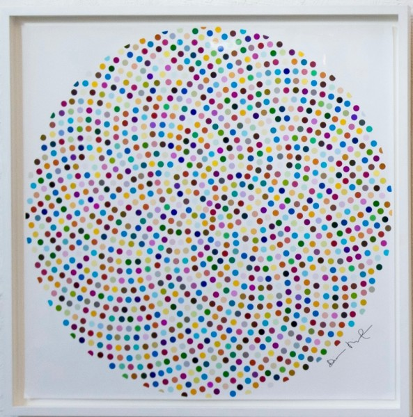 Damien Hirst, Valium, 2000 (not for sale)