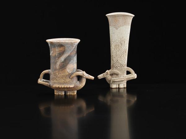 Ian Godfrey, Antelope Vase , c1989