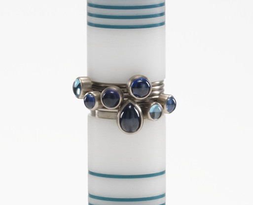Wendy Ramshaw - Seven Part Ring Set, 2005