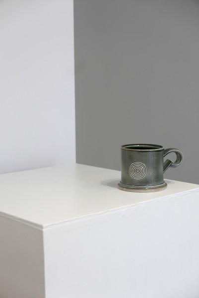 Walter Keeler, Wide Salt Glaze Mug