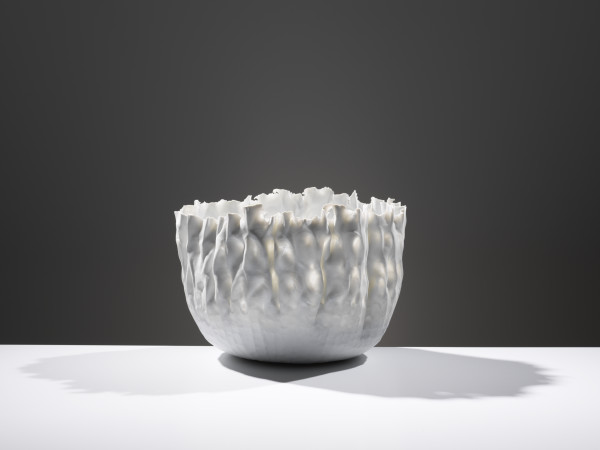Daniel Fisher - Large Porcelain Flame