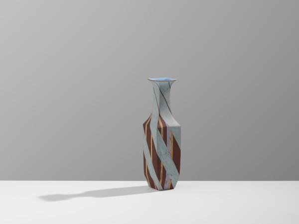 Elizabeth Fritsch, Stoneware Bottle, 1990