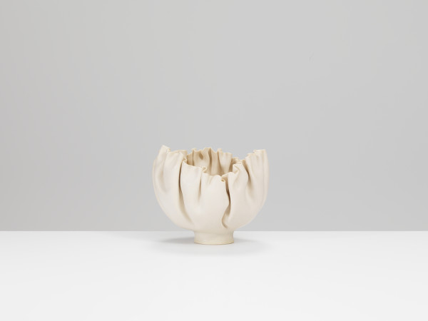 Mary Rogers - Porcelain Folded Bowl