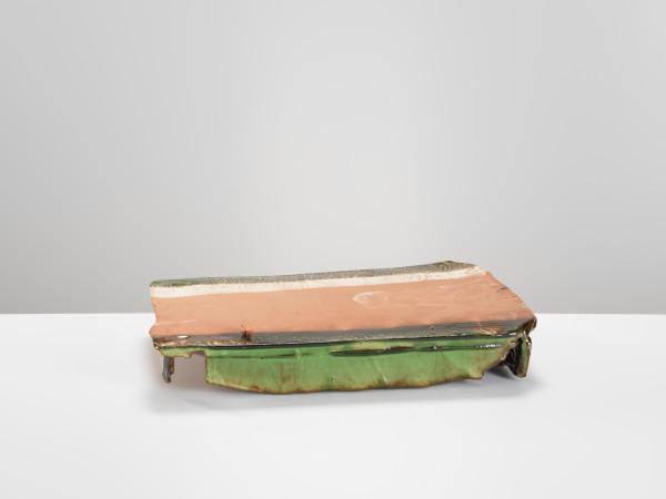 Ryoji Koie, Rectangular Oribe Style Platter