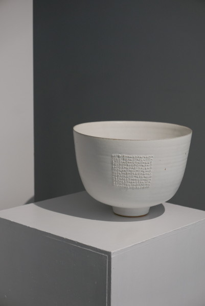 Rupert Spira, Deep Bowl with Titanium Glaze