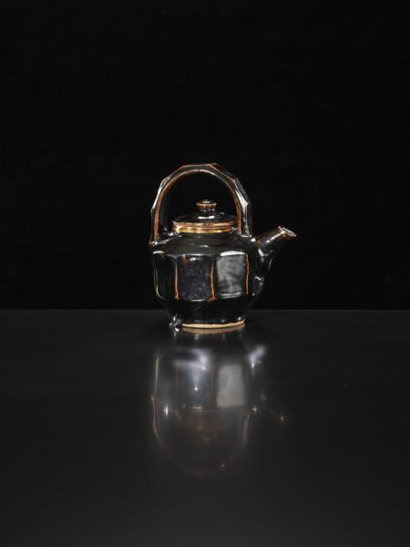 Shoji Hamada - Faceted Teapot, c1965