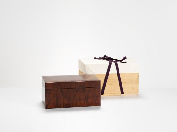 Shouwasai Ohno - 拭漆桑造飾筥 Lacquered Box
