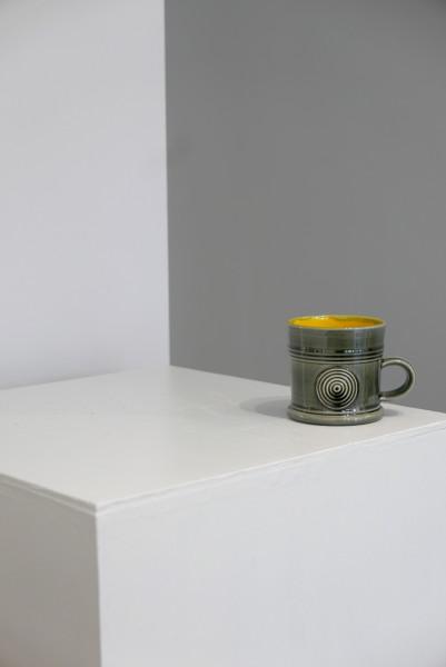 Walter Keeler, Grey and Yellow Mug