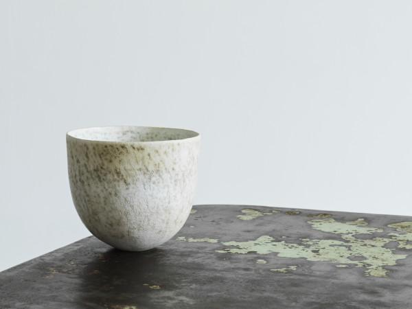 John Ward, Mottled White Bowl