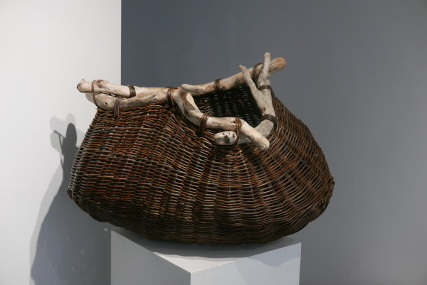 Joe Hogan - Driftwood Pouch with Branches, 2020