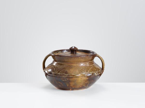 Michael Cardew, Large Gwari Lidded Pot, c1970s