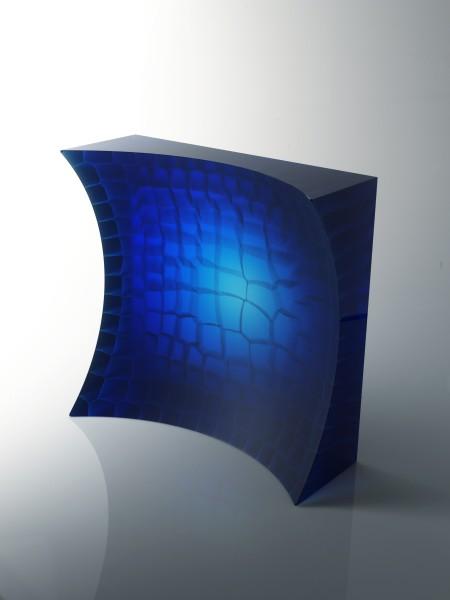Oliver Lesso, Secret Structure in Blue