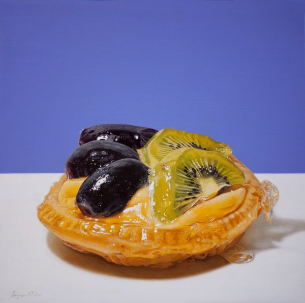 Francesco Stile Kicca Oil on canvas 60 x 60 cm