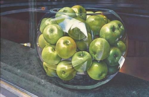 Barry Oretsky, Apples on the Ave., 2000