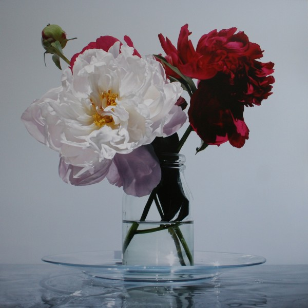 A Little Plate of Peonies