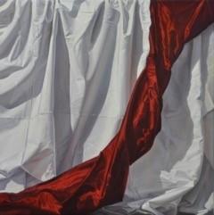 Carl Laubin, Scarlet Drapery, 2014
