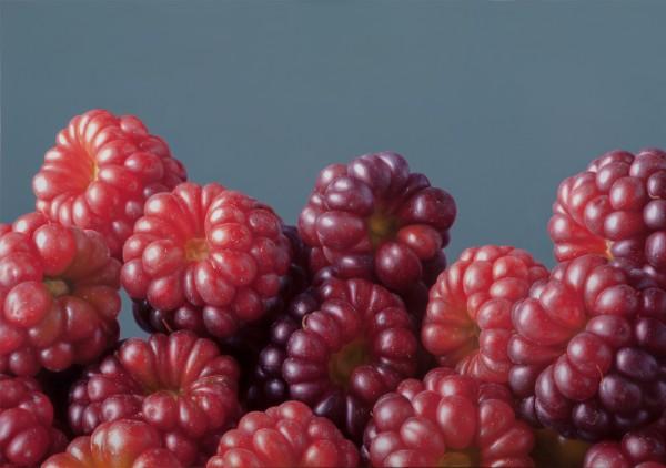 Antonio Castello Raspberries Oil on linen 70 x 100 cm