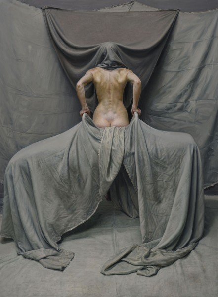 Craig Wylie EW (Hood) Oil on linen canvas 183 x 134.5