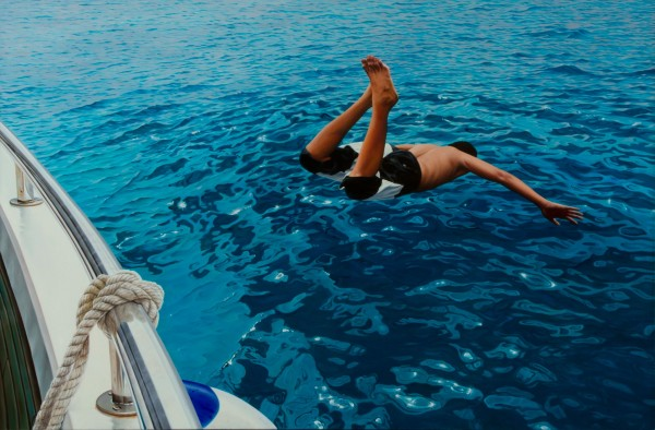 Gustavo Fernandes, The First Dive