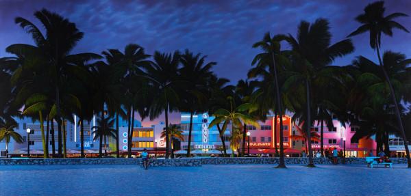 Christian Marsh, Ocean Drive, South Beach, Miami