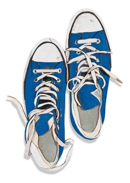 Diederick Kraaijeveld, Blue Sneakers from Above