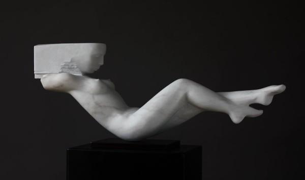 Rogério Timóteo Horizon Marble 30 x 72 x 15 cm