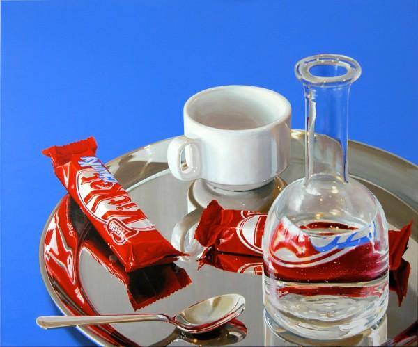 Cynthia Poole Kitkat Chunky XI Acrylic on linen 120 x 100 cm