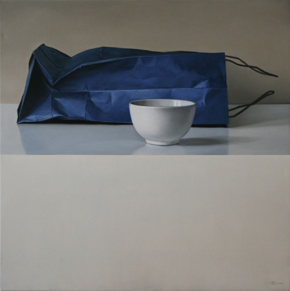 Blue Bag and Bowl