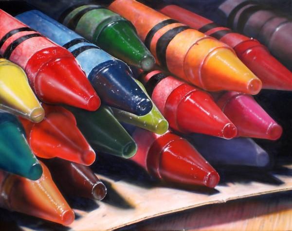 Cesar Santander, Seventeen Crayons
