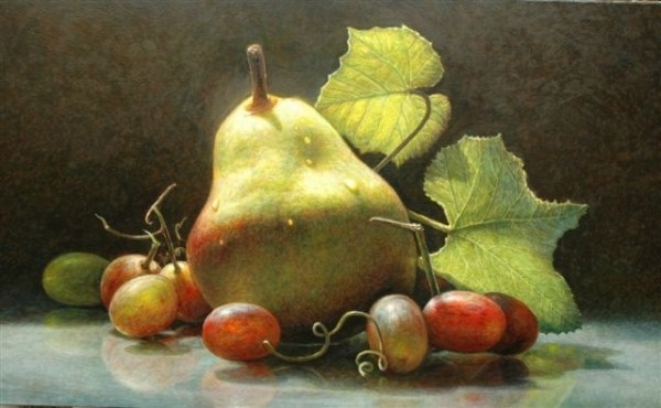 James Del Grosso, October Pear