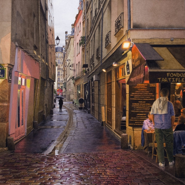 Steven Kozar, Rainy Evening in Paris