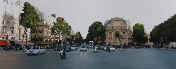 Christian Marsh, Place Saint- Michel, Paris