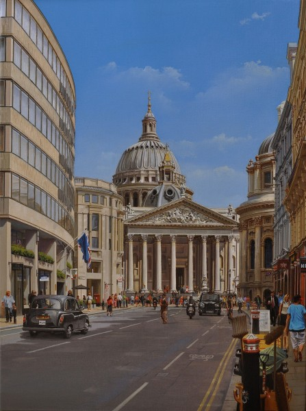 A Different Perspective; Proposals for a new Cathedral and Baptistry by Sir Christopher Wren and Nicholas Hawksmoor Respectively (unbuilt)