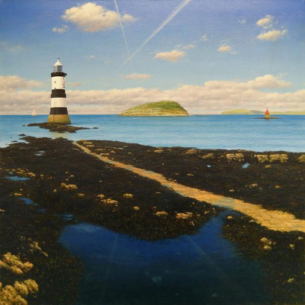 Steve Whitehead Black Point Acrylic on canvas 90 x 90 cm