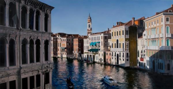 Christian Marsh, View from Rialto Bridge, Venice