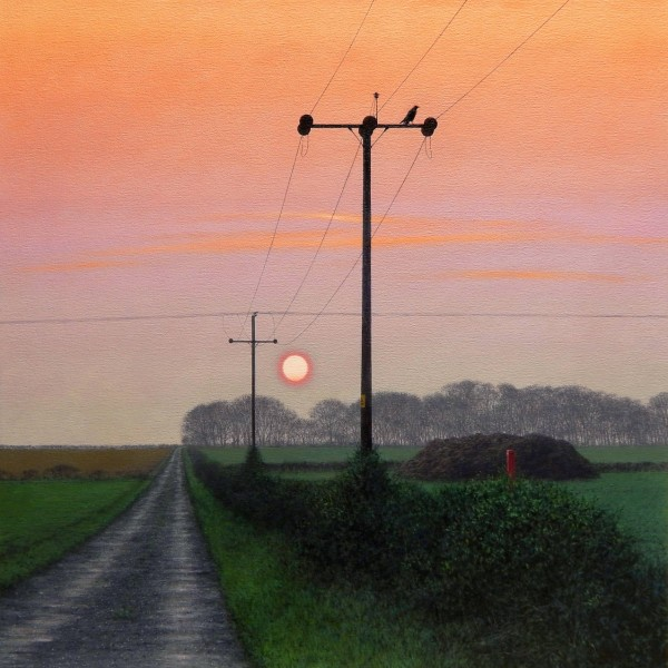Ganton Wold Sunset (Twilight)