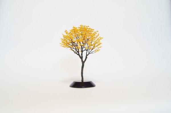 Naoki Onogana  Irodori-007  Paper, resin, wire  24 x 18 x 18 cm
