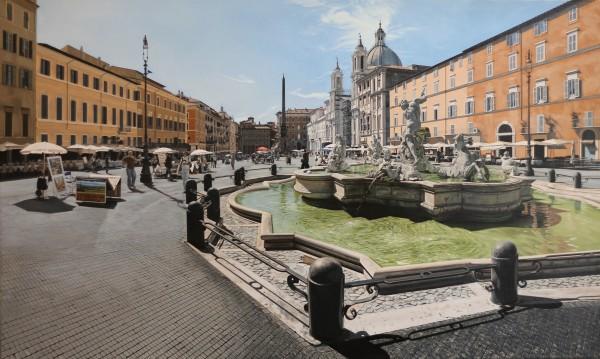 David Wheeler, Luce del Mattino (Piazza Navona, Rome)