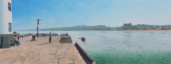 David Wheeler, The Diving Belle Overlooking South Bay ( Mid Afternoon, Scarborough)