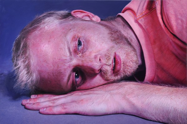 "Craig Wylie Ab(prayer), 2011-2013 Oil on canvas 78.7 x 118"" 200 x 300 cm"