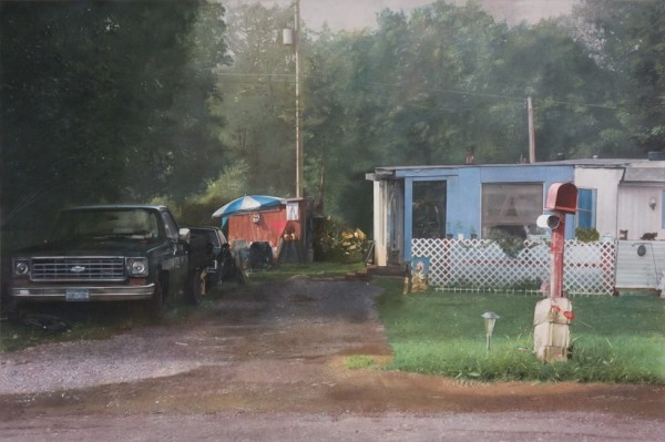 John Salt, Trailer House with Mailbox, 2010-2011
