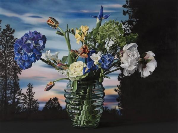 Ben Schonzeit Lake Placid Acrylic on linen 183 x 244 cm