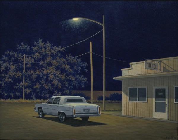 Simon Harling, Motel Cadillac